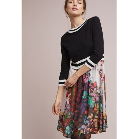b377c5c8f97 Anthropologie Osceola Sweater Dress